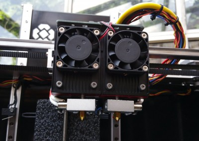 Stock dual extruders