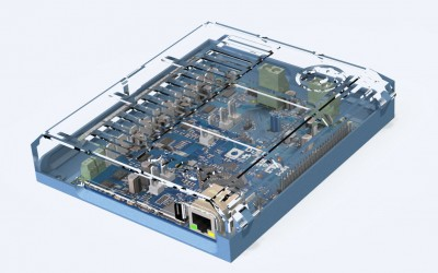 Free 3D CAD models for the Duet v0.8.5 Control Board & Case